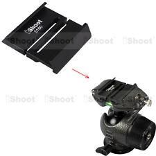 Metal Adapter for Arca-swiss Camera Quick Release Plate to GITZO Tripod Ballhead