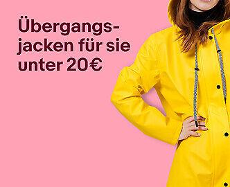 Übergangsjacken für sie unter 20€