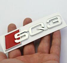 Audi SQ3 S line Logo Emblem chrom Zeichen aufkleber Stiker 3D NEU