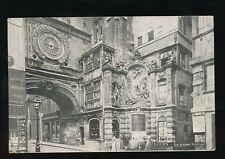 France Haute-Normandie ROUEN L Grosse Horloge giant clock Horology c1900/10s?PPC