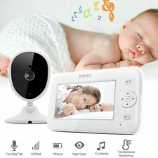 ZREE Wireless Babyphone mit  Kameras Video Baby Monitor 4,3'' Split Screen