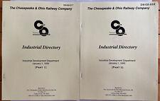 C&O Industrial Directory Parts 1 & 2 C&OHS Reprints