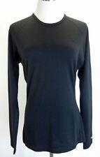 ICEBREAKER Womens Top Merino Wool Bodyfit 200 Crewneck Long Sleeve Base Layer L