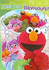 Sesame Street - Elmo's Dinosaurs! DVD Elmo Abby Cadabby Dinosaurs ! Dinosaur