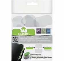 12 Tab Stickers-Bracket for Customizing Notebook Tabs with Color or Pattern
