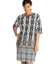London Times Women's Plus-Size 16 Dolman-Sleeve Dress (RUNS BIG 18w 20w)