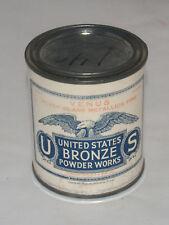 VINTAGE NOS UNITED STATES BRONZE POWDER WORKS VENUS SILVER GLASS METALLICS FINE