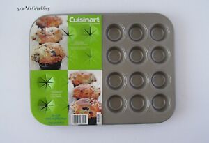Cuisinart Chef's Classic 24-Cup Mini Muffin Pan AMB-24MMPCH ~ Champagne Color