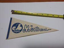 Montreal Expos Vintage MLB Mini Pennant!