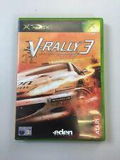 Original Xbox V-Rally 3 PAL UK
