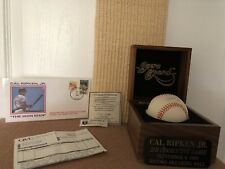 Cal Ripken Jr. Autographed Commemorative Baseball w/coa 2131 Consecutive Games