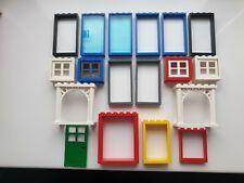 Finestra Vetro 1x2x3 Rosso 6x LEGO 3854
