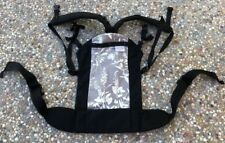 $200 BECO Butterfly II 2 Black Cotton Ergo baby/infant/child carrier made USA
