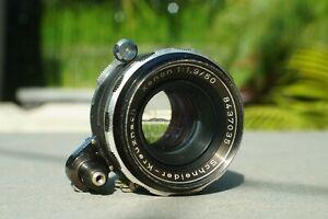 EXCELLENT Schneider-Kreuznach Auto Xenon 50mm F/1.9 Exakta Mount Lens