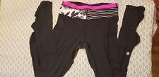 Lululemon Pants  Size 4 black. Running biking yoga