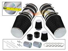 BLACK For 2008-2012 Mercedes Benz C300 3.0L V6 Short Ram Air Intake Kit+Filter