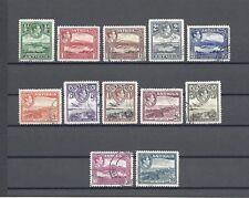 ANTIGUA 1938-51 SG 98/109 USED Cat £140
