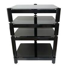Fisual Ensemble Hi-fi Rack 4 Shelf Gloss Black