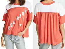 WILDFOX USA Baby Samuel Tee New w/Flaws Damen T-Shirt