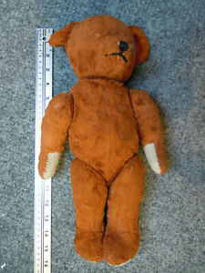 "Teddy Bear Vintage, 16"" Tall, Jointed Legs, Arms and Neck."