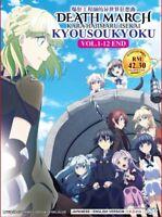 DVD Anime Death March Kara Hajimaru Isekai Kyousoukyoku Series (1-12) English