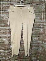 Size 2 (12) NEW Chicos The Ultimate Fit Stretch Ankle Pants Khaki