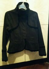 Mrs. Pepper black jacket