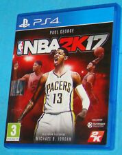 NBA 2k17 - Sony Playstation 4 PS4 - PAL