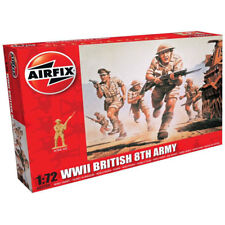 AIRFIX A00709 WWII British 8th Army 1:72 Figures Model Kit