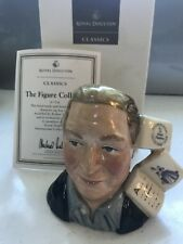 Royal Doulton Small Character Toby Jug The Figure Collector D7156 Boxed & Cert