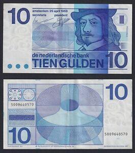Olanda 10 gulden 1968 SPL/XF  B-08