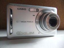 casio ex-z9 8.1 megapixel digital camera/ silver.