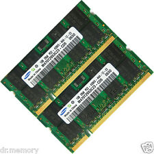 2 GB (2 x 1 GB) DDR2-533 PC2-4200 Notebook (SODIMM) Memory Ram OS a 200 pin