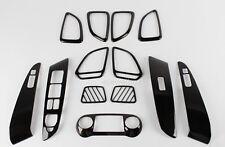 Chrome Interior Carbon Cover Trim for 11-13 Hyundai Tucson iX35 w/ Tracking No.