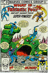 What If (1st series) # 36 (Fantastic Four / Nova) (USA)