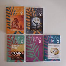 5 livrets booklets Marché du film 2018 Festival Cannes France