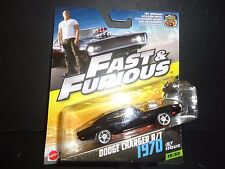 Hot Wheels Dodge Charger RT 1970 Black Fast and Furious 1/55