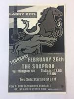 February 26, 2009 concert flyer~LARRY KEEL & NATURAL BRIDGE