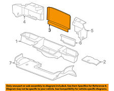 Chevrolet GM OEM 03-04 Corvette Interior-Rear-Rear Trim Panel 10313587