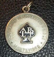 URUGUAY MONTEVIDEO 1965 OLD CONTRACT BRIDGE ASSOC. COUPLE CHAMPION. AWARD MEDAL