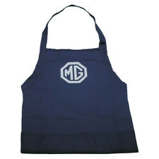 MG logo Apron Workshop Adjustable straps 3 large pockets for garage messy jobs