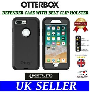 👉For iPhone 7 Plus / 8 Plus👈Otterbox Defender Rugged Case Belt Holster Cover