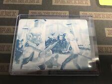 2013 Topps Mars Attacks: Invasion CYAN 1/1 PRINTING PLATE #3 Buckingham Massacre