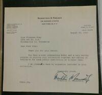 1957 Franklin D. Roosevelt Jr TLS Signed Letter US Congress