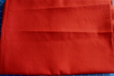 Remnant Poly Viscose Fabric 1.50mts x 150cm - Dark Terracotta - R118