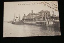 CALAIS LA GARE MARITIME 1918 PAS DE CALAIS R1044