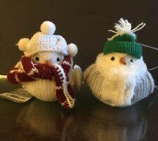 Set 2 Target Wondershop Birds Christmas Ornament Featherly Friends