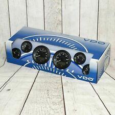 Vdo 600 970216 Gauge Set Instrument Cluster Black Bezels Gm Free Shipping