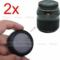 2x Rear Cap Cover for Fuji Fujifilm Micro SLR X-Mount Lens XF 18-135/ 3.5-5.6R