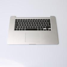 "Apple MacBook Pro Retina 15"" TopCase komplett inkl Akku A1398 2012 2013 Grade C"